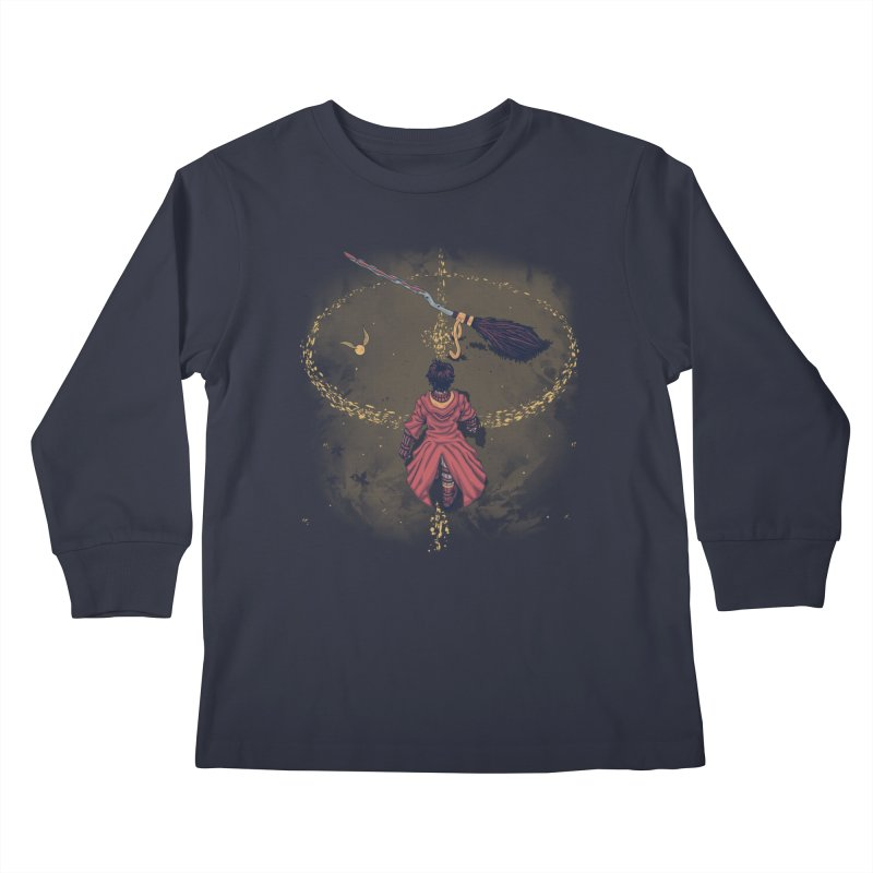 Seeker Kids Longsleeve T-Shirt by Arashi-Yuka