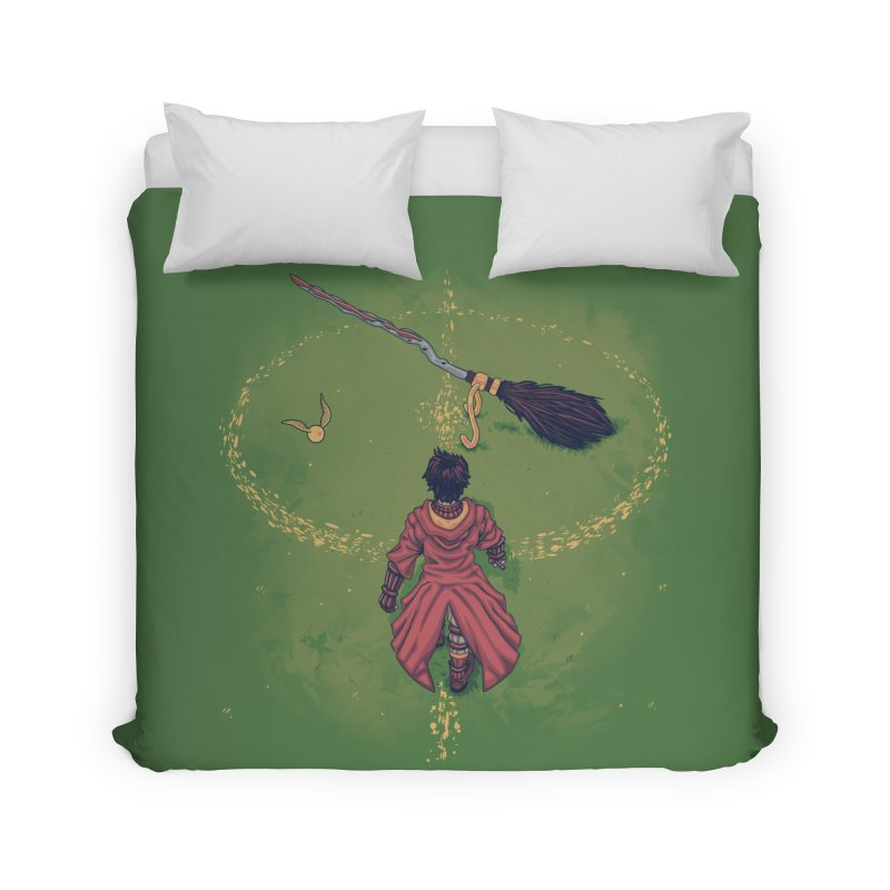 Seeker Home Duvet by Arashi-Yuka
