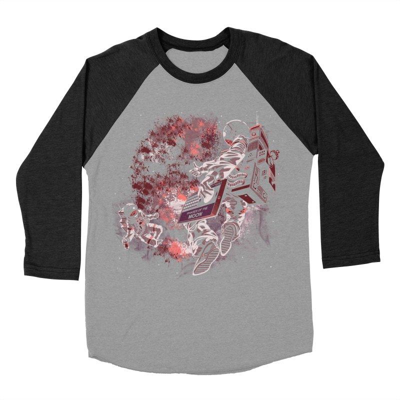 Phases Of The Moon Women's Baseball Triblend Longsleeve T-Shirt by Arashi-Yuka