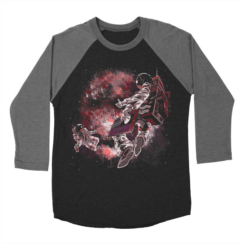 Phases Of The Moon Men's Baseball Triblend Longsleeve T-Shirt by Arashi-Yuka