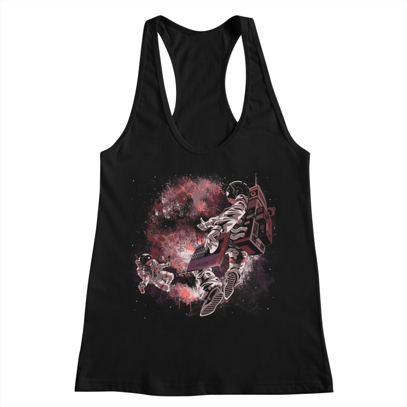 Phases Of The Moon Women's Racerback Tank by Arashi-Yuka