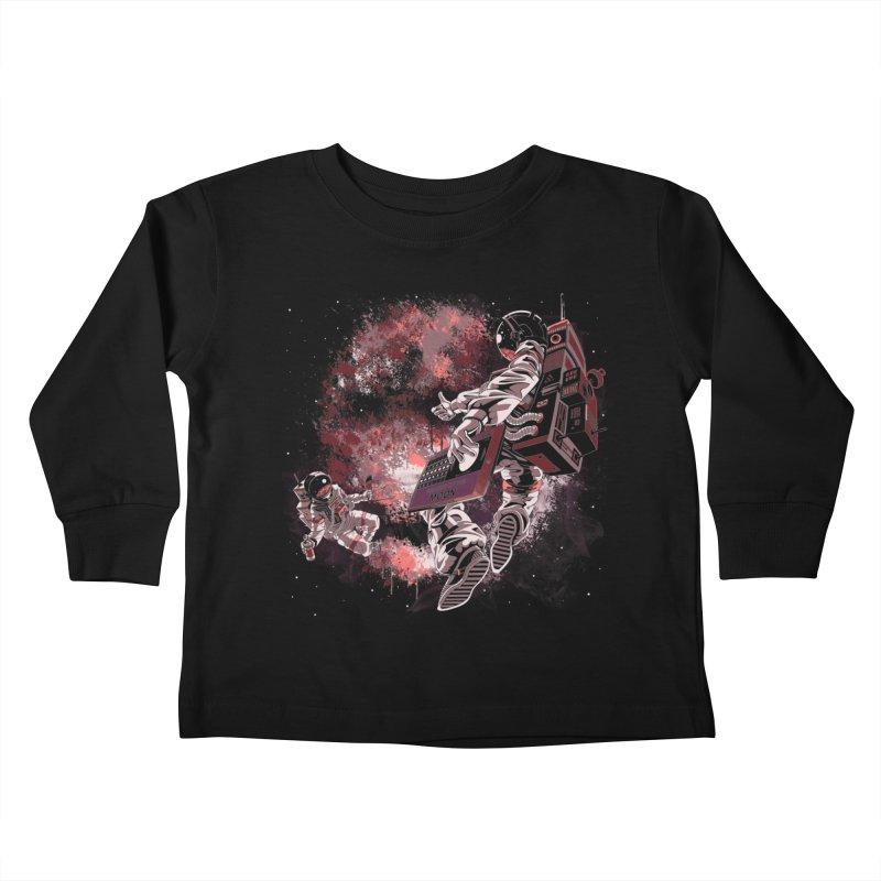 Phases Of The Moon Kids Toddler Longsleeve T-Shirt by Arashi-Yuka