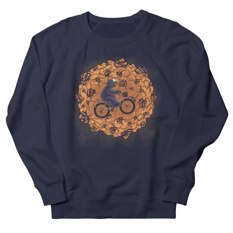 Your Moon, My Cook Men's French Terry Sweatshirt by Arashi-Yuka