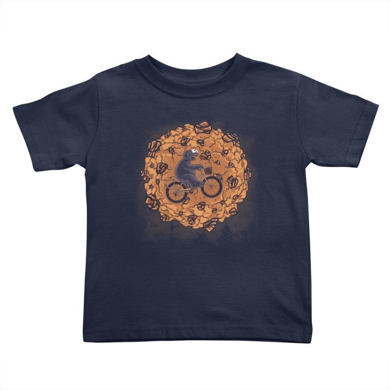 Your Moon, My Cook Kids Toddler T-Shirt by Arashi-Yuka