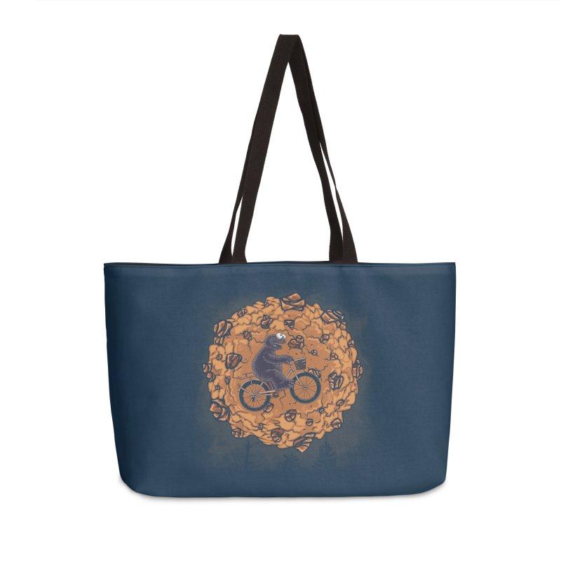 Your Moon, My Cook Accessories Weekender Bag Bag by Arashi-Yuka