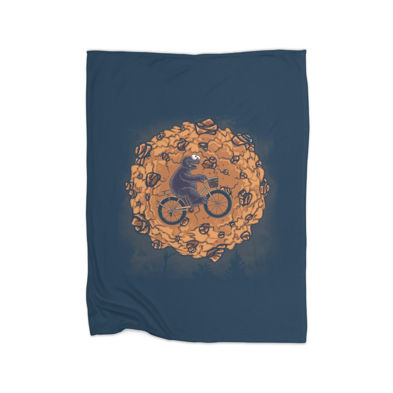 Your Moon, My Cook Home Fleece Blanket Blanket by Arashi-Yuka