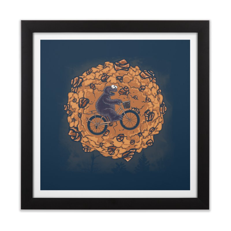 Your Moon, My Cook Home Framed Fine Art Print by Arashi-Yuka