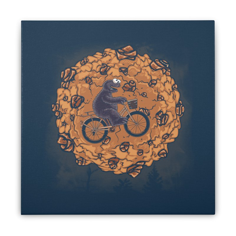 Your Moon, My Cook Home Stretched Canvas by Arashi-Yuka