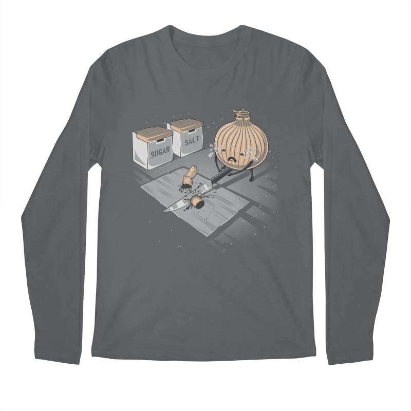 Onion´s Revenge Men's Longsleeve T-Shirt by Arashi-Yuka