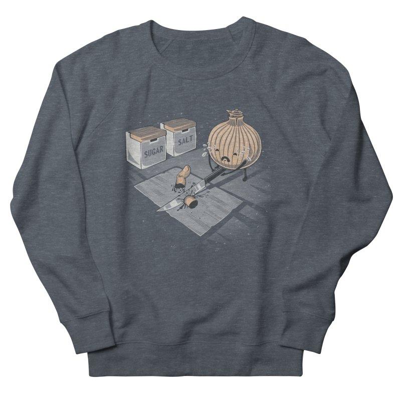Onion´s Revenge Men's French Terry Sweatshirt by Arashi-Yuka