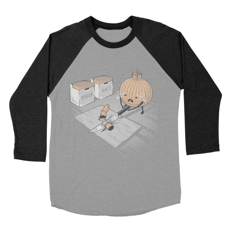 Onion´s Revenge Men's Baseball Triblend Longsleeve T-Shirt by Arashi-Yuka