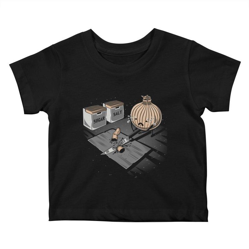Onion´s Revenge Kids Baby T-Shirt by Arashi-Yuka