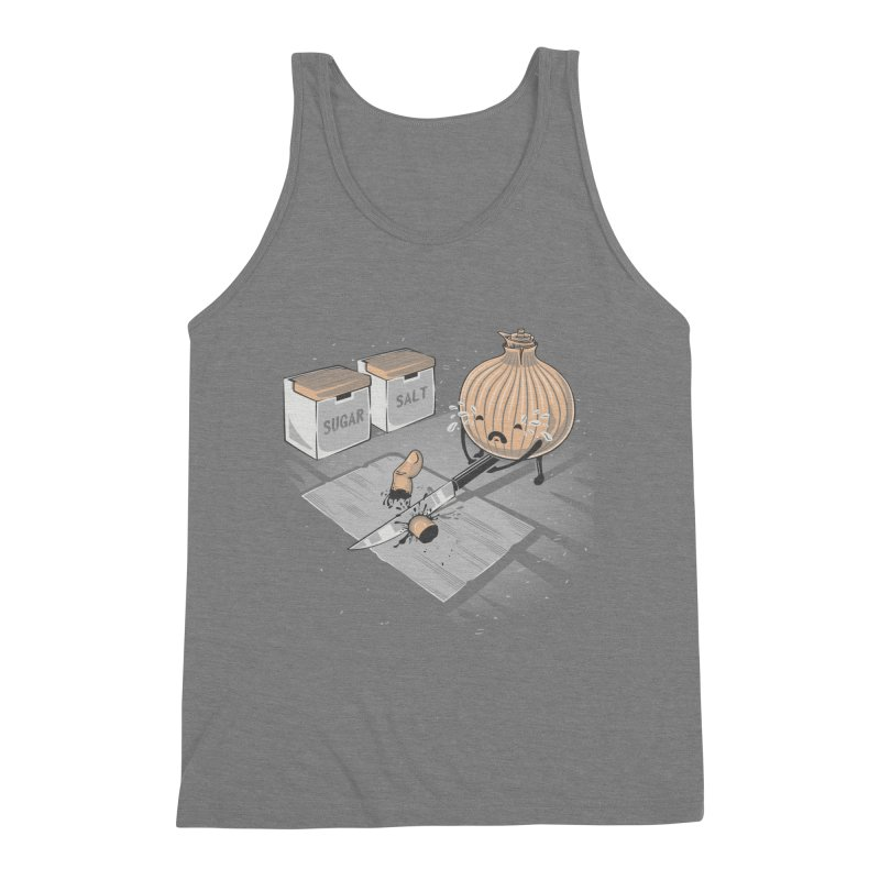 Onion´s Revenge Men's Triblend Tank by Arashi-Yuka