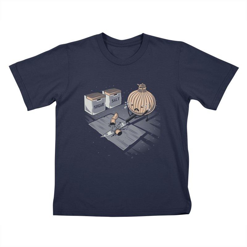 Onion´s Revenge Kids T-Shirt by Arashi-Yuka