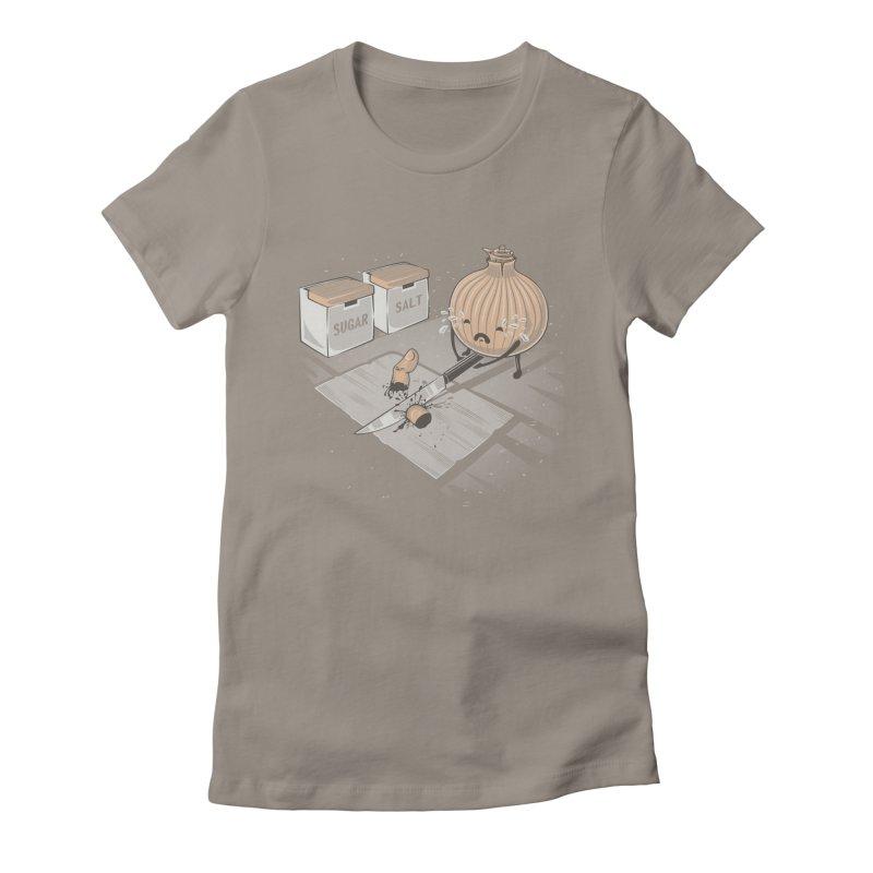 Onion´s Revenge Women's Fitted T-Shirt by Arashi-Yuka