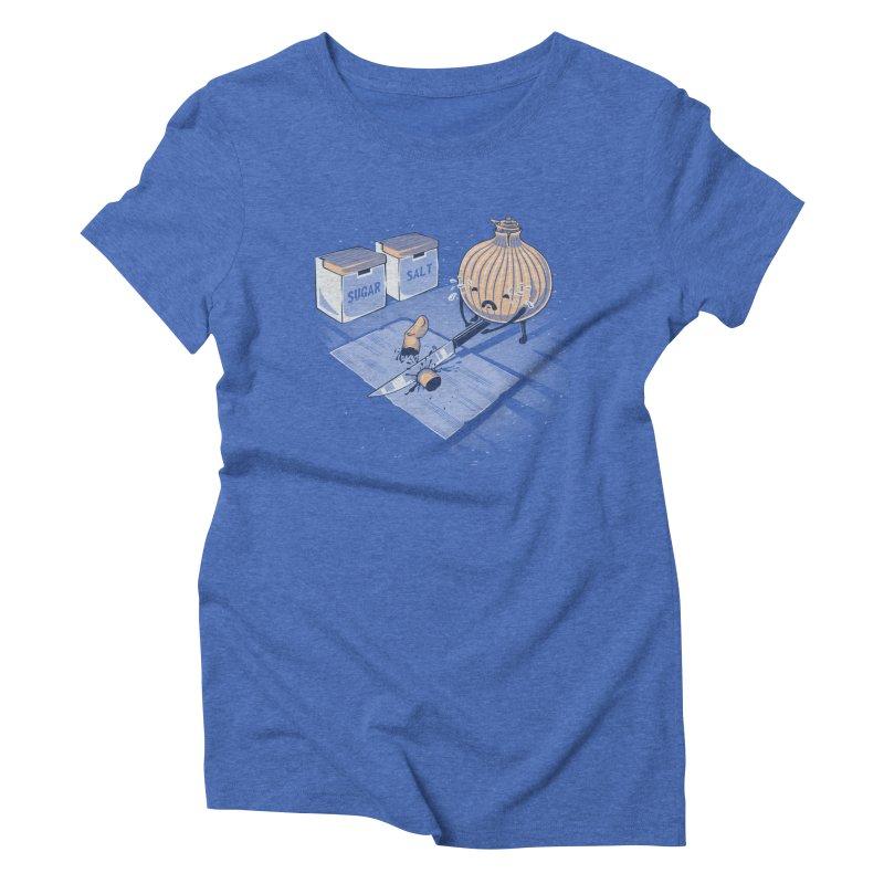 Onion´s Revenge Women's Triblend T-Shirt by Arashi-Yuka