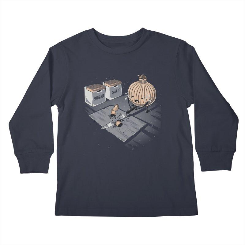 Onion´s Revenge Kids Longsleeve T-Shirt by Arashi-Yuka
