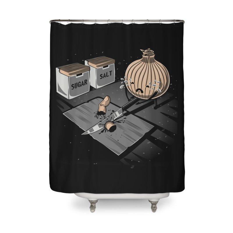 Onion´s Revenge Home Shower Curtain by Arashi-Yuka