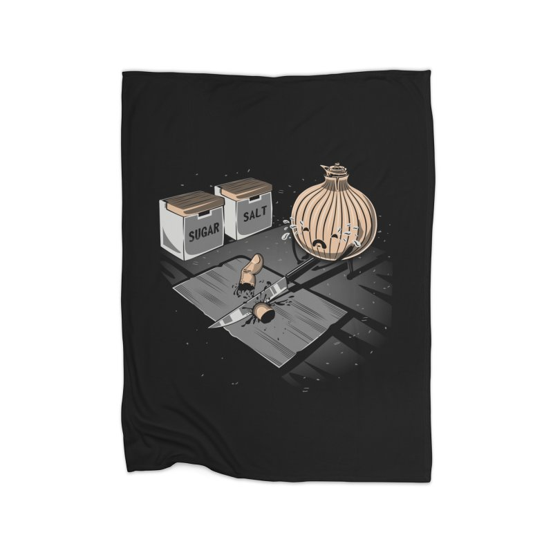 Onion´s Revenge Home Fleece Blanket Blanket by Arashi-Yuka