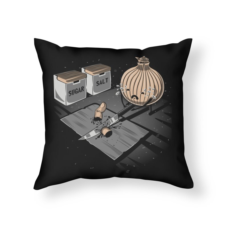 Onion´s Revenge Home Throw Pillow by Arashi-Yuka
