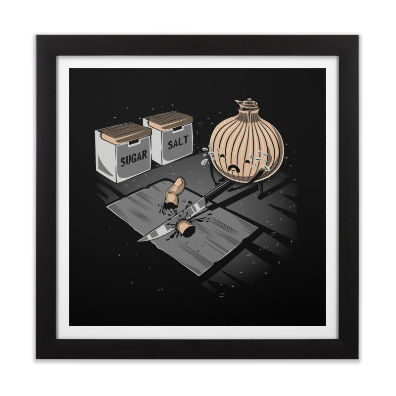 Onion´s Revenge Home Framed Fine Art Print by Arashi-Yuka