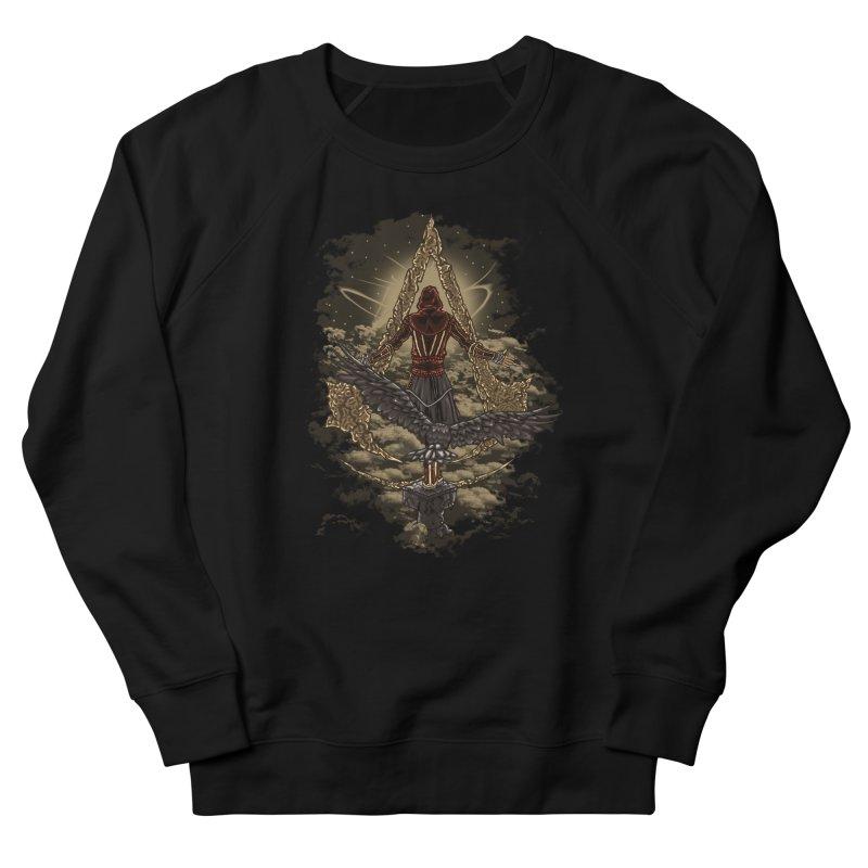 Leap Of Faith Women's French Terry Sweatshirt by Arashi-Yuka