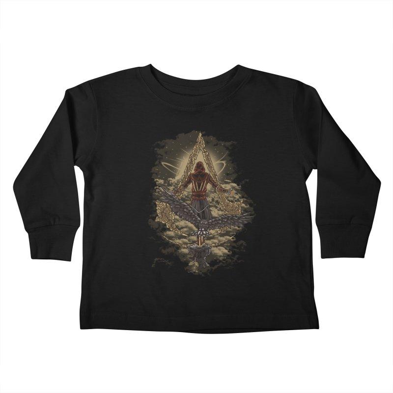 Leap Of Faith Kids Toddler Longsleeve T-Shirt by Arashi-Yuka