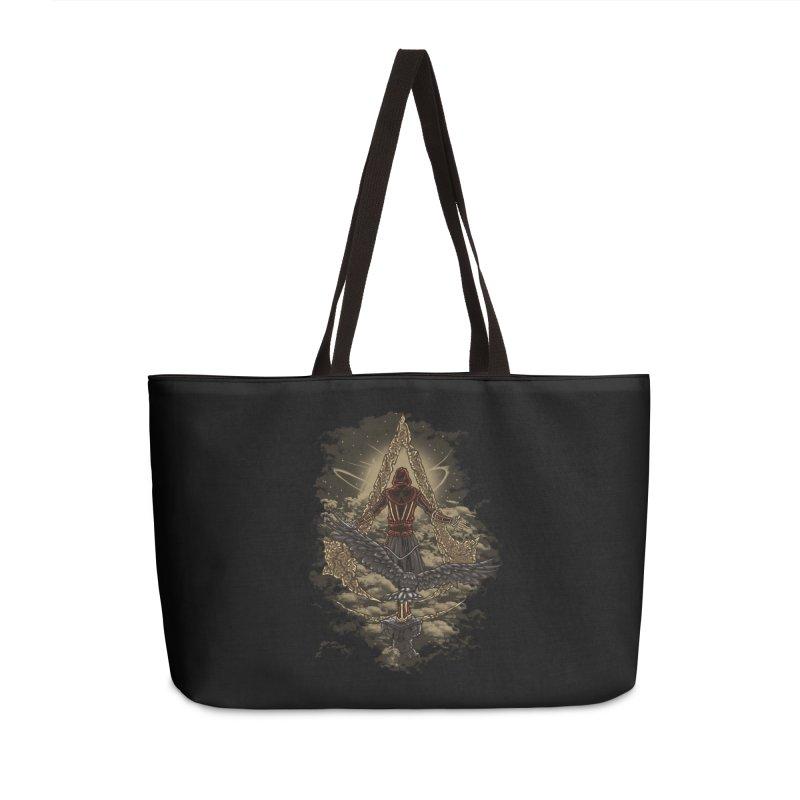 Leap Of Faith Accessories Weekender Bag Bag by Arashi-Yuka