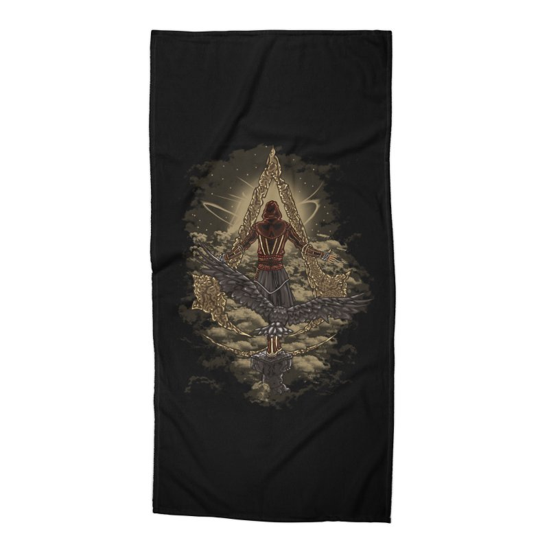 Leap Of Faith Accessories Beach Towel by Arashi-Yuka