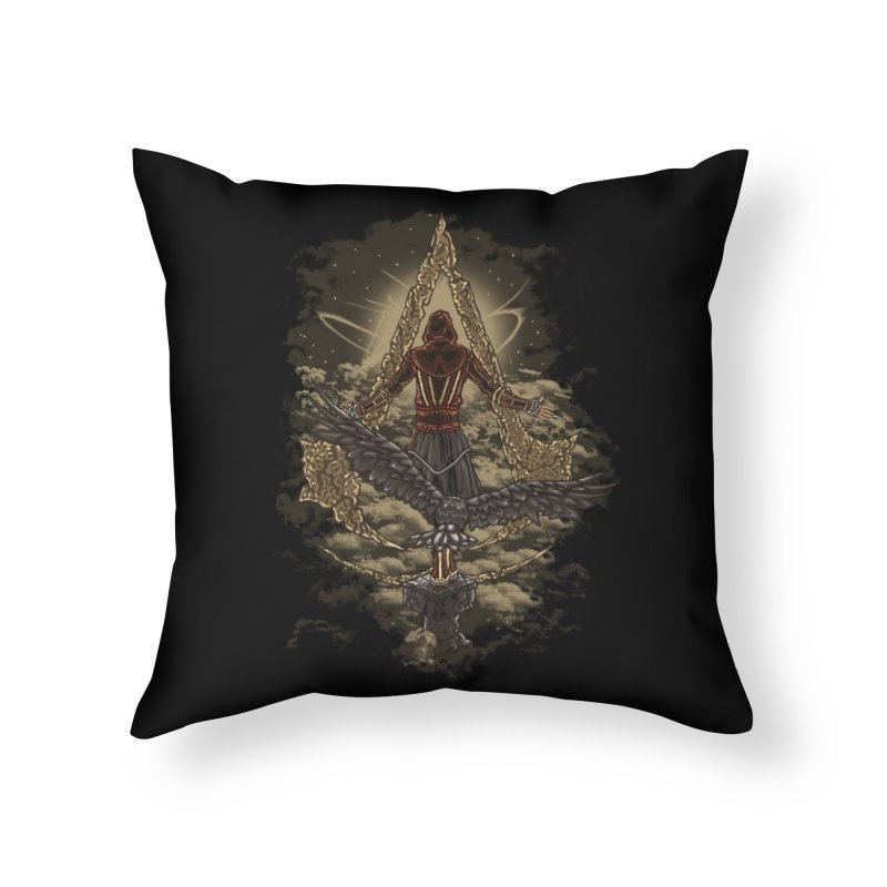 Leap Of Faith Home Throw Pillow by Arashi-Yuka