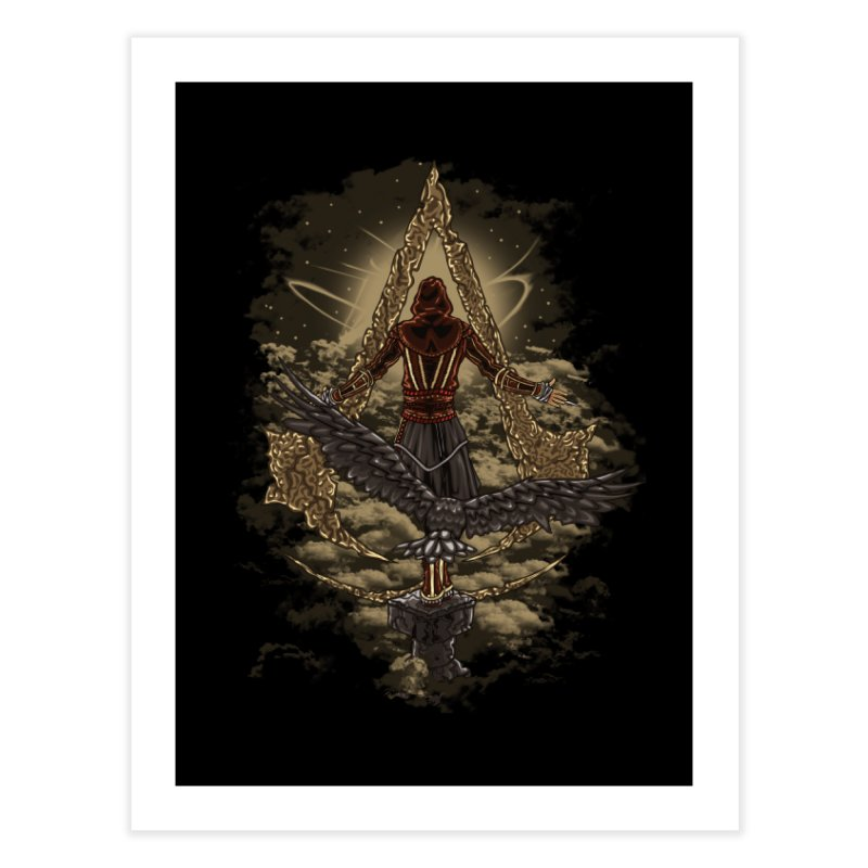 Leap Of Faith Home Fine Art Print by Arashi-Yuka