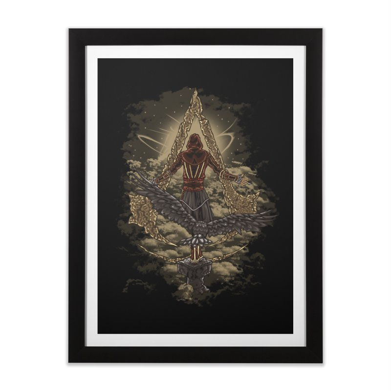 Leap Of Faith Home Framed Fine Art Print by Arashi-Yuka