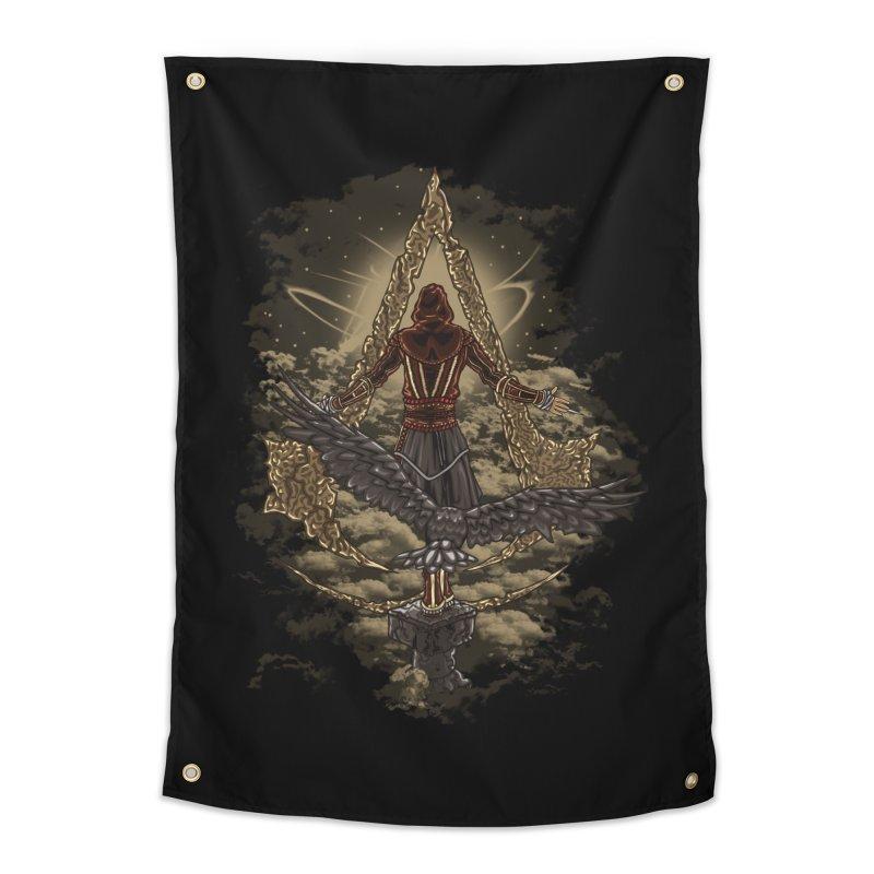 Leap Of Faith Home Tapestry by Arashi-Yuka