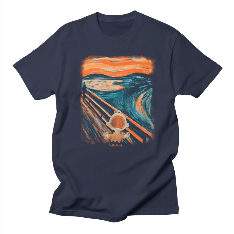 Skrik Women's Regular Unisex T-Shirt by Arashi-Yuka
