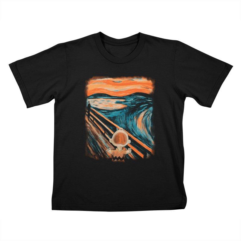Skrik Kids T-Shirt by Arashi-Yuka