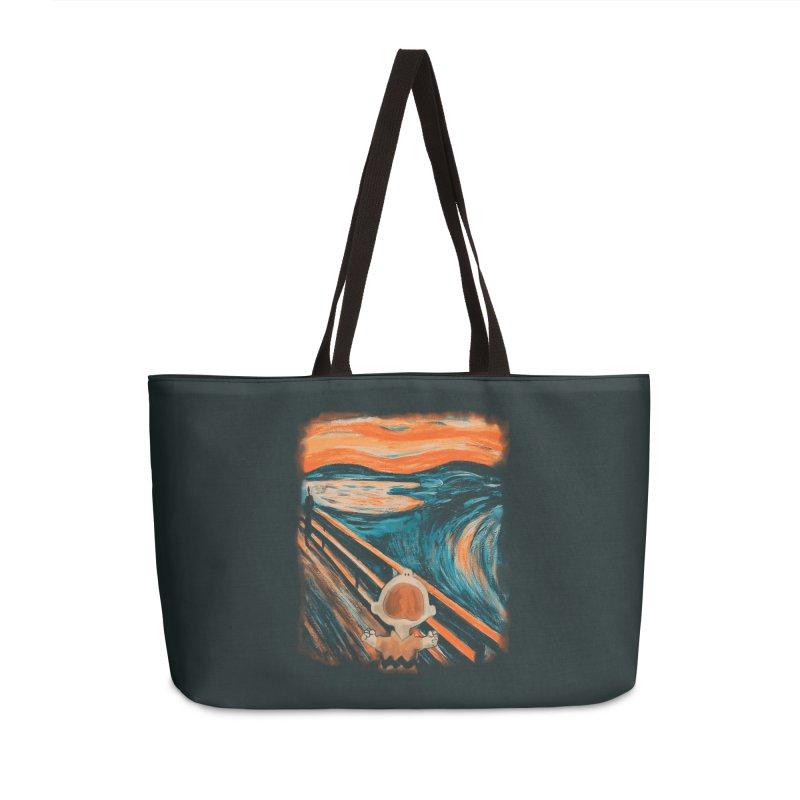 Skrik Accessories Weekender Bag Bag by Arashi-Yuka