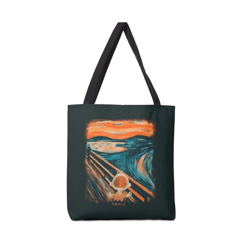Skrik Accessories Tote Bag Bag by Arashi-Yuka