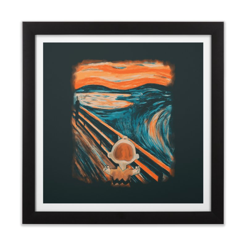 Skrik Home Framed Fine Art Print by Arashi-Yuka