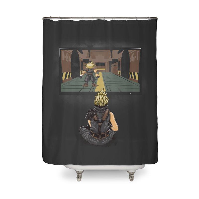 Playing With Yourself Home Shower Curtain by Arashi-Yuka
