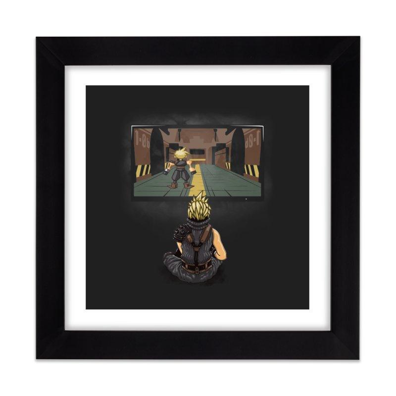 Playing With Yourself Home Framed Fine Art Print by Arashi-Yuka