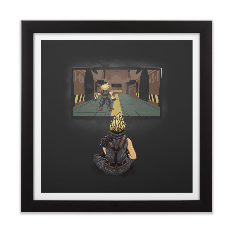 Playing With Yourself Home Framed Fine Art Print by Arashi-Yuka