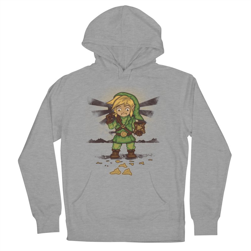 Finding Triforce´s Fragments Women's French Terry Pullover Hoody by Arashi-Yuka