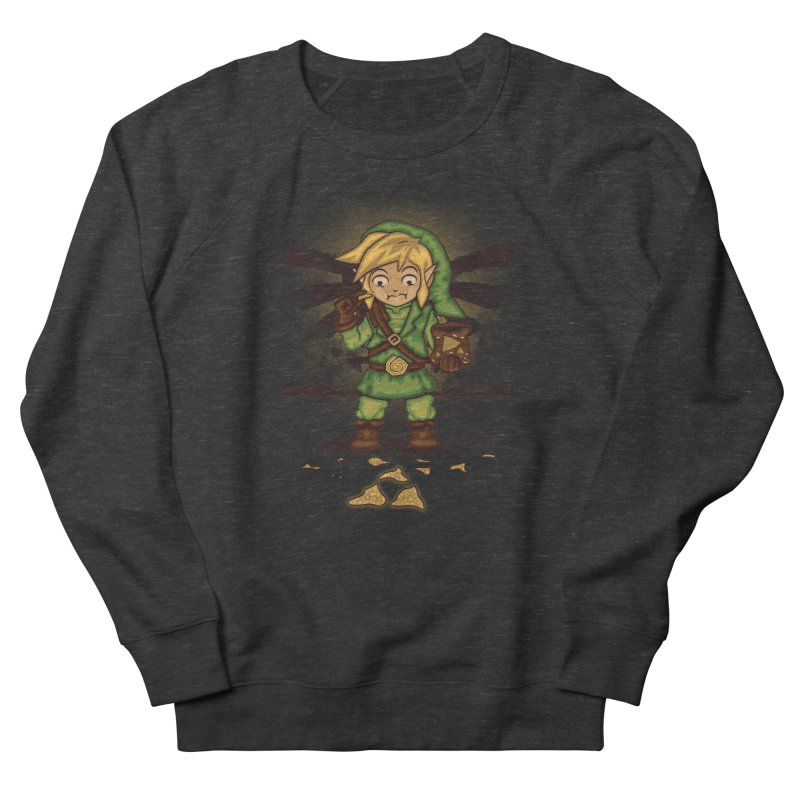 Finding Triforce´s Fragments Men's Sweatshirt by Arashi-Yuka
