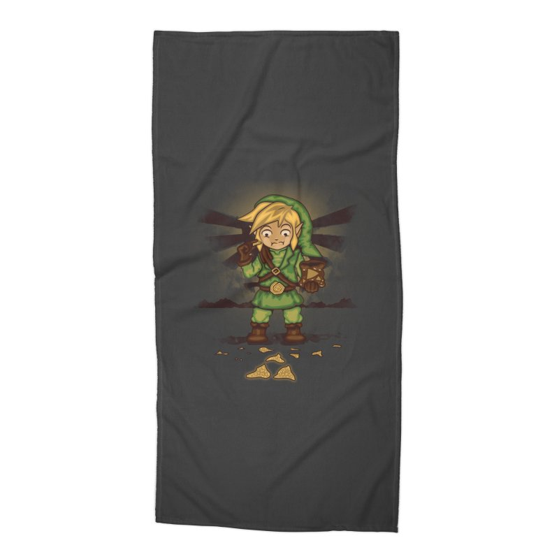 Finding Triforce´s Fragments Accessories Beach Towel by Arashi-Yuka