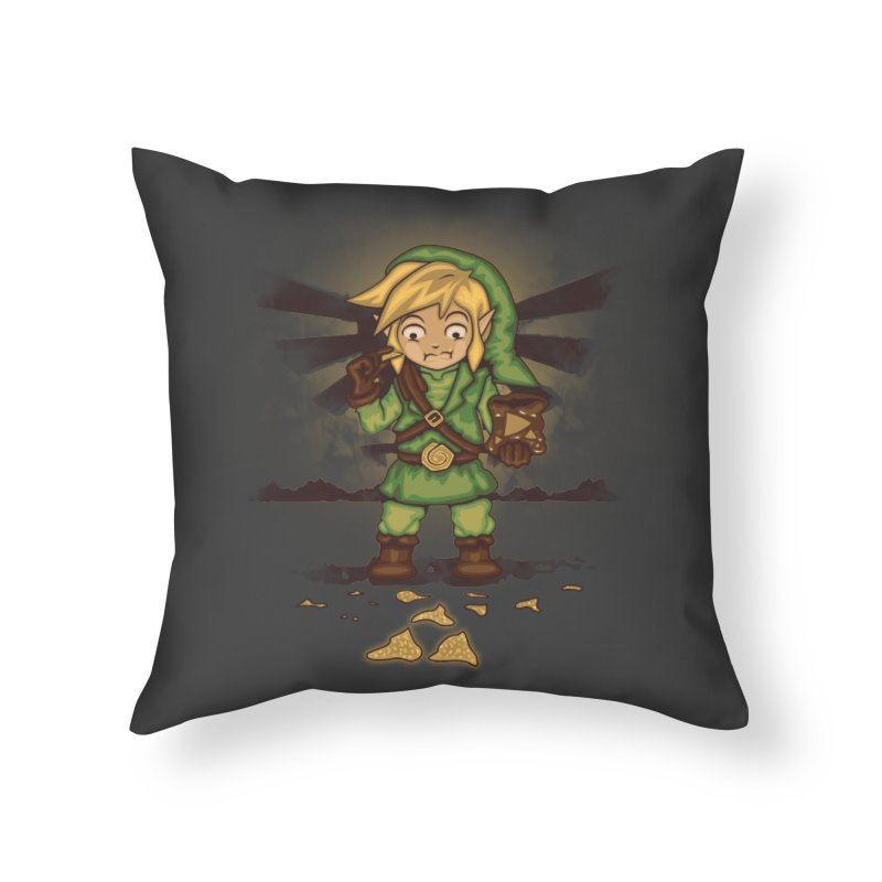 Finding Triforce´s Fragments Home Throw Pillow by Arashi-Yuka