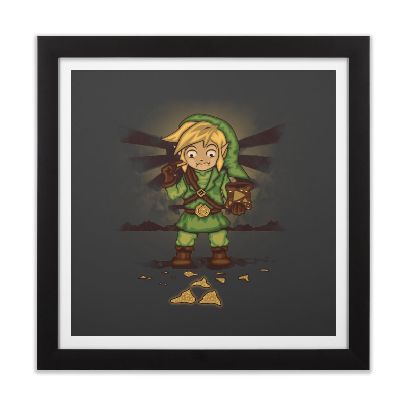 Finding Triforce´s Fragments Home Framed Fine Art Print by Arashi-Yuka