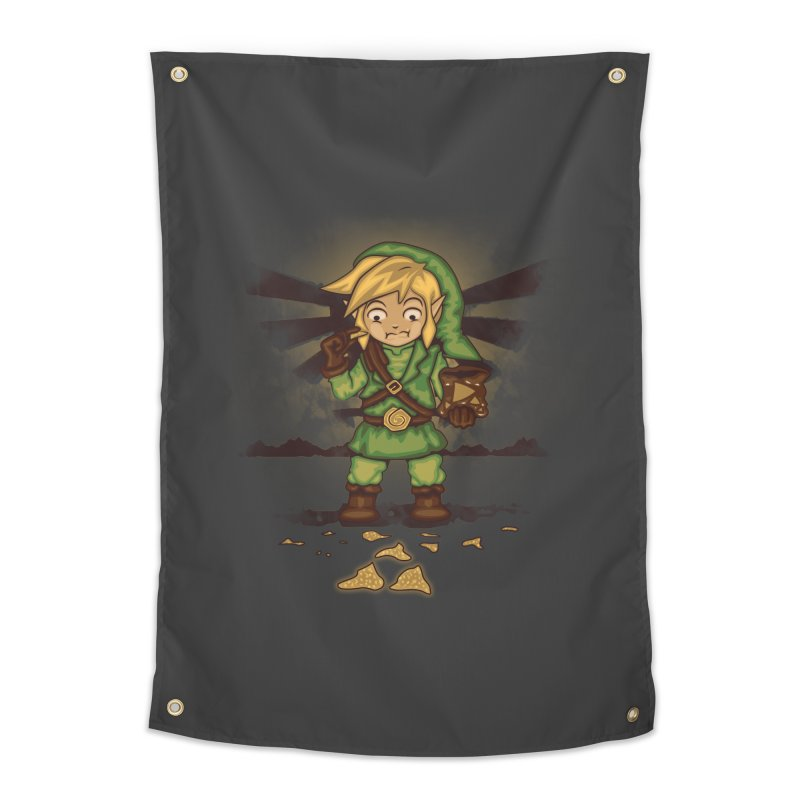 Finding Triforce´s Fragments Home Tapestry by Arashi-Yuka