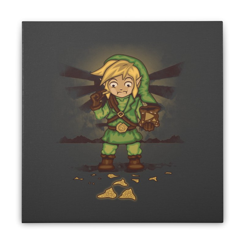 Finding Triforce´s Fragments Home Stretched Canvas by Arashi-Yuka