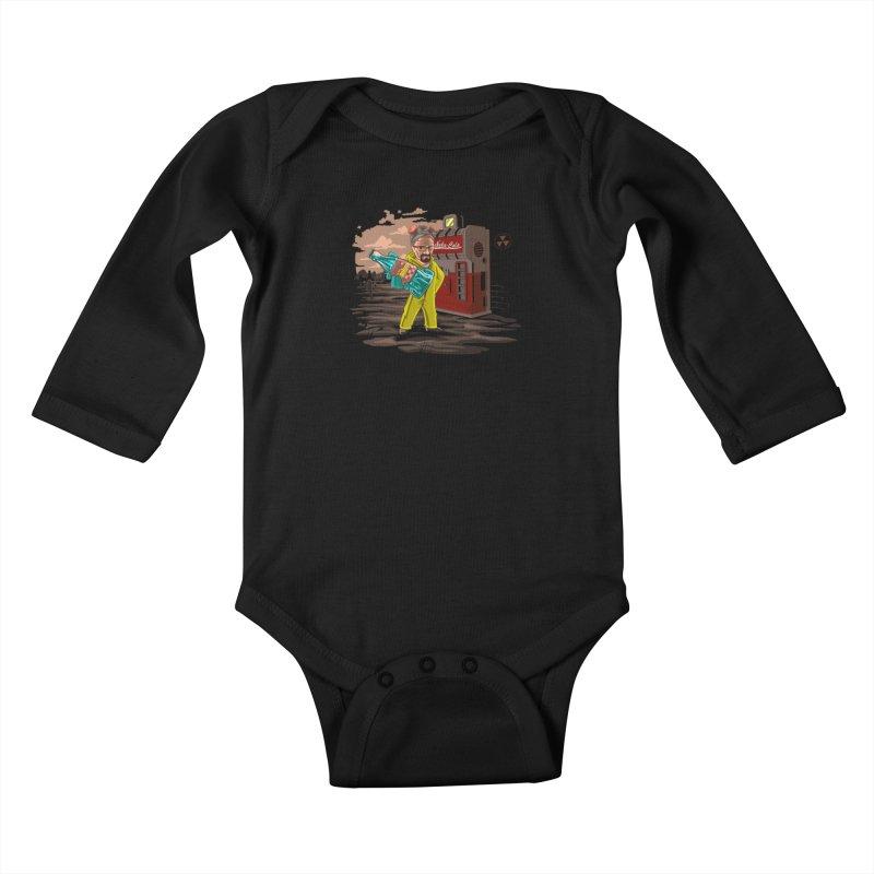 Nuka-Cola Quantum Kids Baby Longsleeve Bodysuit by Arashi-Yuka