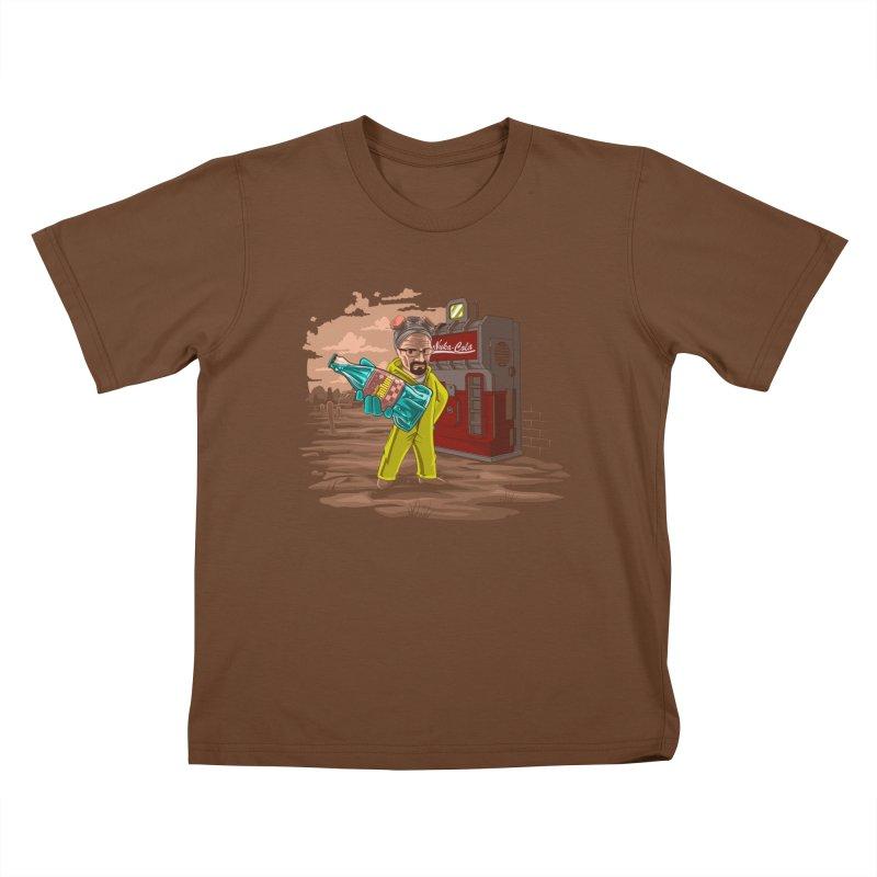 Nuka-Cola Quantum Kids T-Shirt by Arashi-Yuka